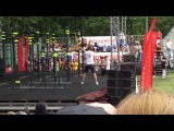 Roger Испания (SPAIN) - 2 выход Street Workout Freestyle World Championship 2016