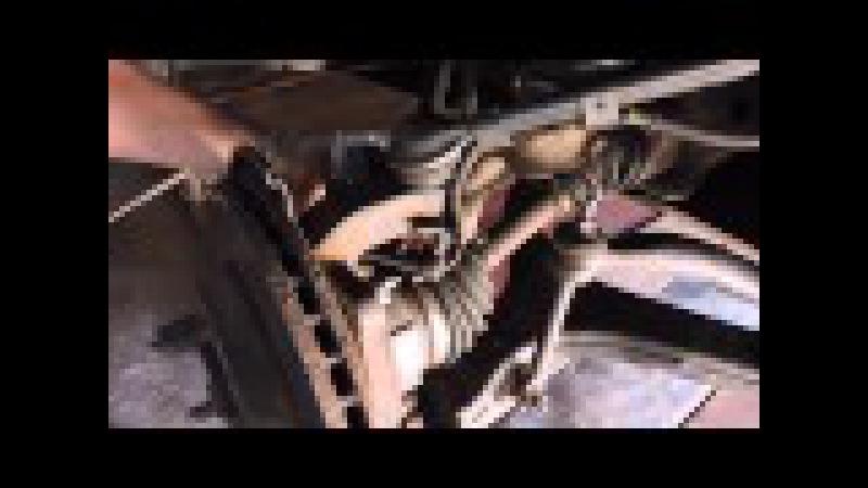 Как снять муфту подключения переднего моста. The coupling of the front axle SsangYong Kyron. Hubs.
