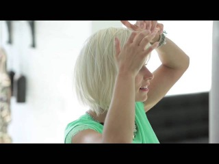 Как правильно надевать парик рассказывает Анника Хансен Парики Ellen Wille (Русский перевод)