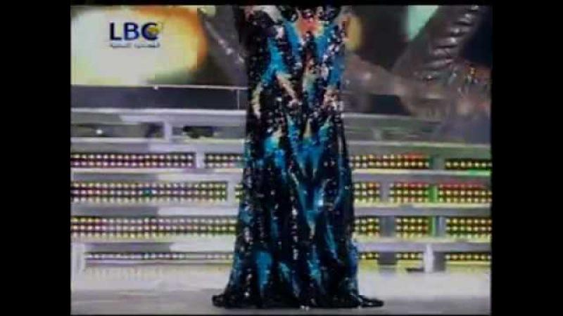 Haifa Wehbe in Miss Lebanon 2010 Ayami