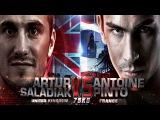 Thai Fight London, Artur Saladiak (UK) Vs Antoine Pinto (Franch) , Thai Fight 11092016