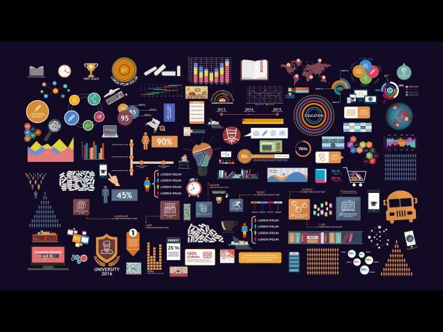BigData - Education Infographics Pack