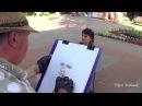 Художник портретист в Гомельском парке a portrait painter in the Gomel park