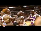 Shaquille O'NEAL vs Dennis RODMAN (2 Different Broadcasts)