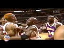 Shaquille O'NEAL vs Dennis RODMAN 2 Different Broadcasts