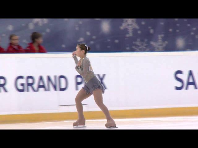 2016 ISU Junior Grand Prix - Saransk - Ladies Free Skate. Hanul KIM