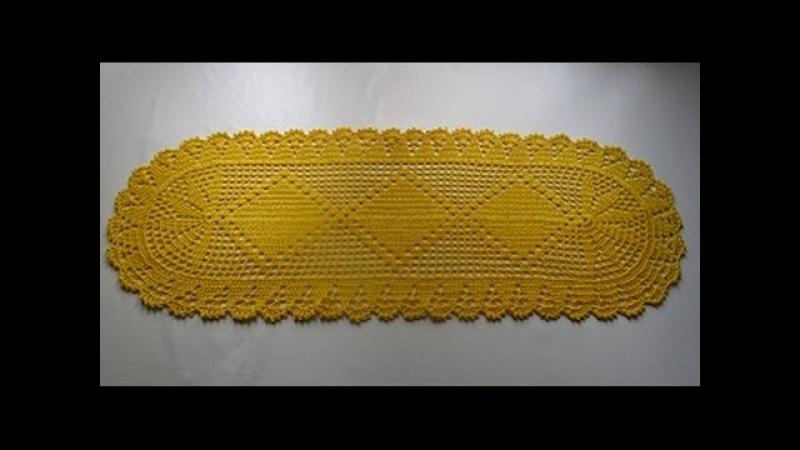 Uncinetto tappeto centrino centro tavola tutorial