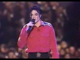 Michael Jackson - Gone Too Soon &amp Heal The World Live (President Clinton's Gala.avi