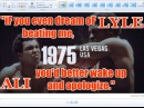 Muhammad Ali vs Ron Lyle 49th of 61 - May 1975 - IN THEIR OWN WORDS
