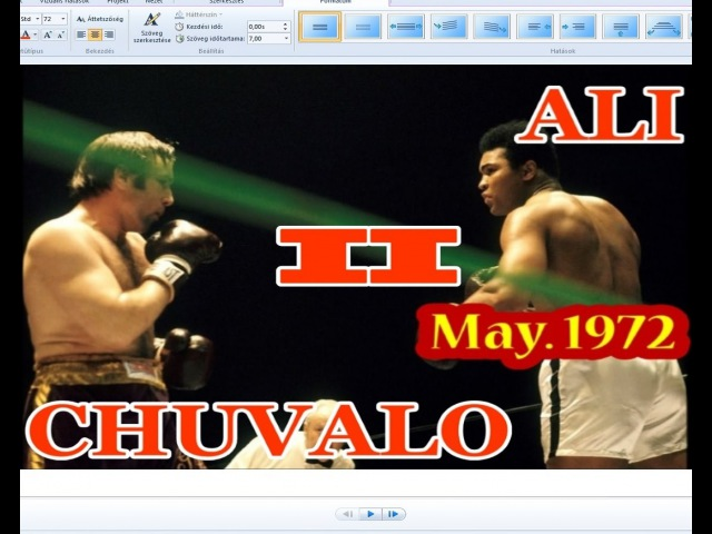 Muhammad Ali vs George Chuvalo II 37th of 61 May 1972