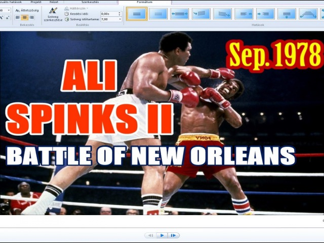 Muhammad Ali vs Leon Spinks II 59th of 61 Sept 1978 Mixed Version