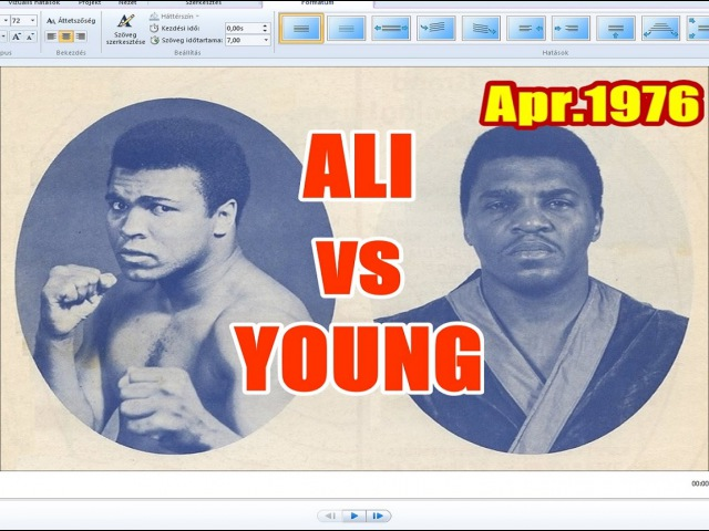 Muhammad Ali vs Jimmy Young 53rd of 61 Apr 1976