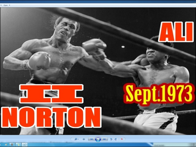 Muhammad Ali vs Ken Norton II 44th of 61 Sept 1973 The Battle Of Broken Jaw