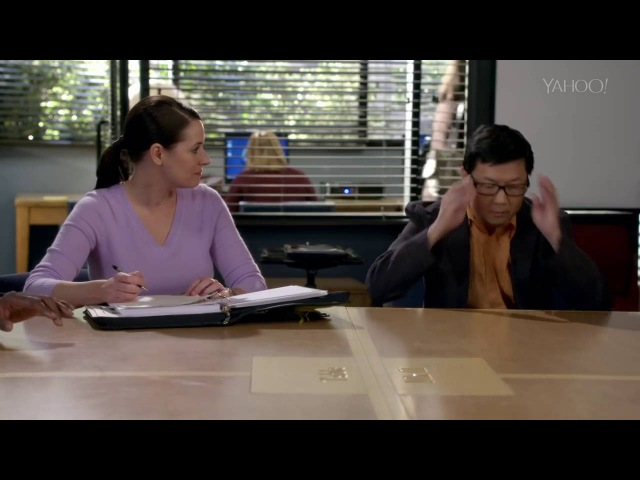 Chang knows Powerpoint (Community).