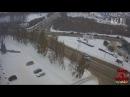 14.11.2016 Кемерово. Авария на ЗАГСе. Не поделили перекресток.