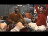 Ananta Gauranga Prabhu leading kirtan in Queens Station