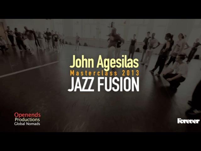 JAZZ FUSION Masterclass John Agesilas 2013
