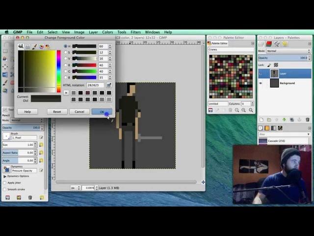 How To Pixel Art Tutorial Part 7 Sword Sworcery