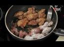 Как правильно пожарить куриную печёнку мастер класс от шеф повара Илья Лазерс