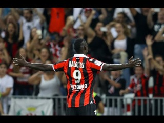Mario Balotelli Scored His First Goal for OGC Nice | 11.09.2016