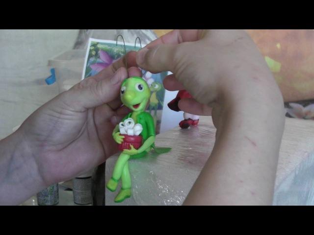 Торт Лунтик и баба Капа часть 2