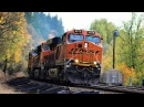 Heavy Freight Action in Ridgefield, WA - BNSF's Seattle Sub (10-22-16)
