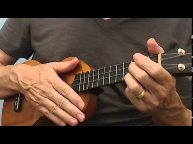 Hallelujah Fingerstyle Ukulele with Chords Lyrics