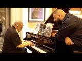 Встреча DJ Khaled и Quincy Jones, как часть рекламной кампании нового альбома DJ Khaled Grateful
