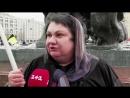 Чей Крым Москвичи на «Антикризисном митинге»