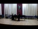 Отчетный концерт. Даниэль- 2015 г.-муз.школа Табакова