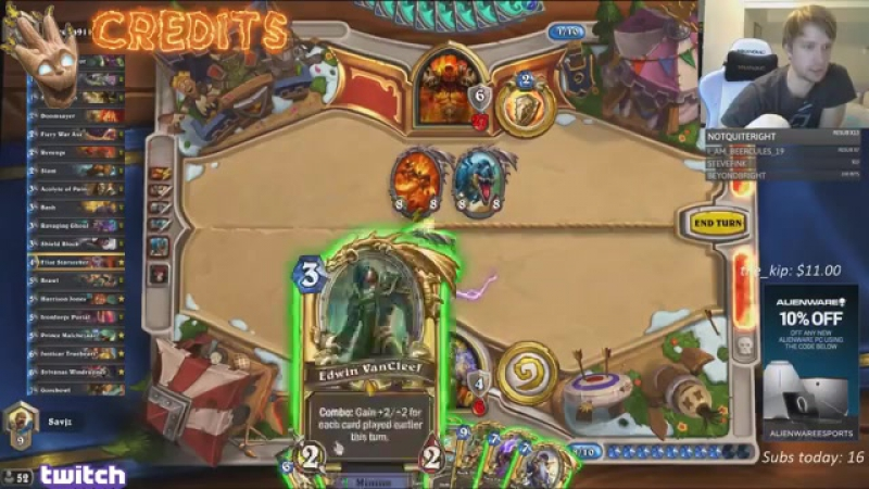 Hearthstone Karazhan Daily Funny and Lucky Moments Ep. 170 - Hunter Top Deck Fiesta!!