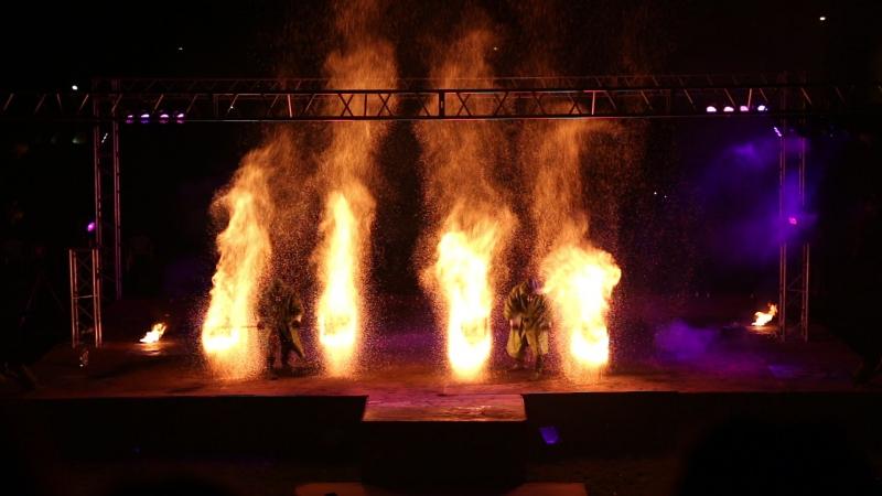 Международный фестиваль огня «Мифф-2016»