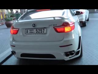 Очень крутой тюнинг!! BMW X6 HAMANN