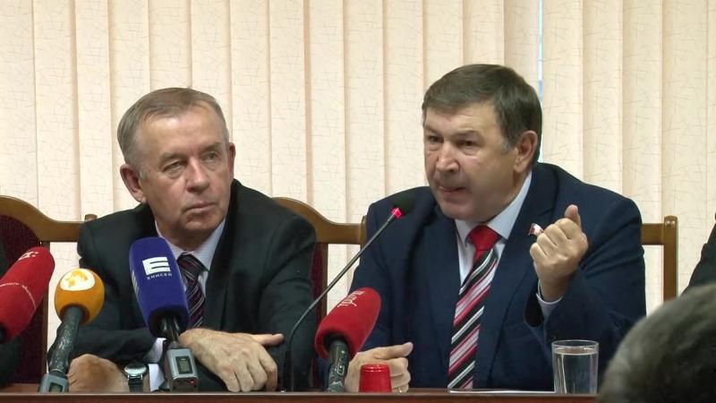 Пресс конференция Колюшина