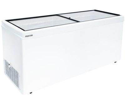 морозильный ларь Frostor с прямым стеклом