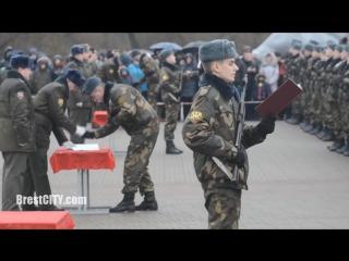 Присяга в Брестской крепости 12 декабря 2015