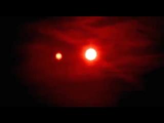 Нибиру видно через пленку от старой дискеты. Революция красного фильтра