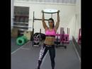 Andreia Brazier - Video instagrama Brazilian fitness athlete, four-time world champion WFBB №5