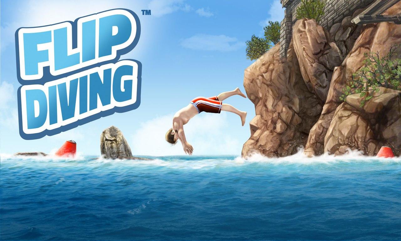 Скачать игру flip diving на андроид мод много денег