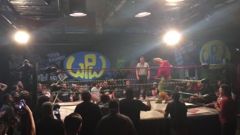 Joey Ryan pins Cerealman at WPW to win DDT Pro Wrestling Ironman Heavymetalweight (24_7 Rule) Title