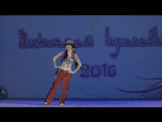 Шоу беллиданс - Ковбойский танец.