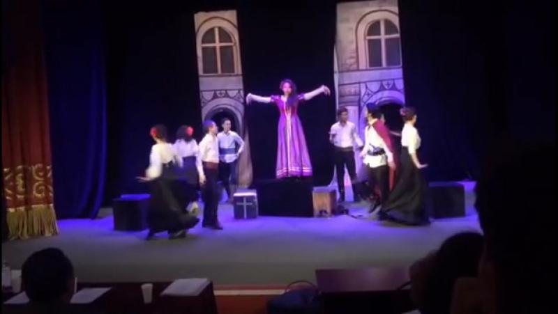 Дипломный спектакль Дон Гуан((Дон Жуан