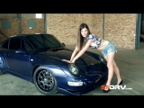 Julia Bickel - Wide-Body Porsche 993 Carrera - Trouble comes in sexy packages!