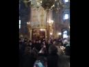 Изгнание беса у гроба Отца Кирилла Павлова.