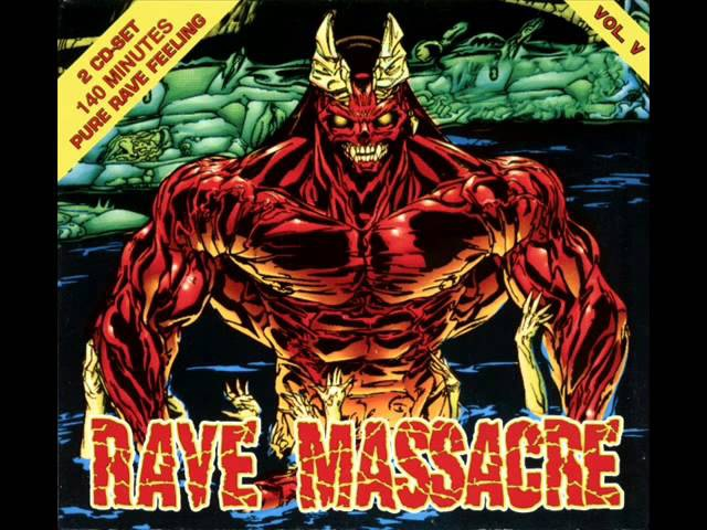 RAVE MASSACRE VOL. 5 (V) FULL ALBUM 14759 MIN (HAPPY HARDCORE GABBER RAVE TECHNO HD HQ 1997)