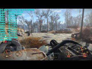 Fallout 4 GTX 1050 2GB OC | 1080p | Фреймрейт ТЕСТ