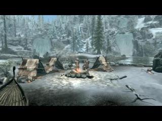 Skyrim - лучшая лёгкая броня печать смерти и легендарное оружие кровавая коса - душитель гайд (INDA Game)