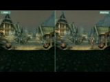 Skyrim Special Edition - Сравнение PS4 vs. PS4 Pro 4K (Candyland)