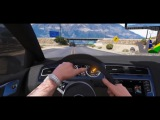 GTA 6 Graphics -  REDUX - VW Golf GTI МК7! Игровой процесс! Ультра реалистичная графика MOD ПК