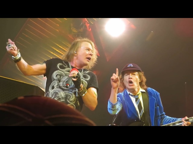 AC⚡️DC with Axl Rose - Live in Buffalo, NY -2016 (KeifferGNR) Almost Complete